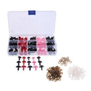 132-Pcs-Plastic-Safety-Noses-for-Bear-Animals-Dolls-Crafts-DIY-Making