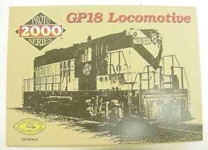 Proto 2000 8848 HO Northern Pacific GP18 Diesel Locomotive EX/Box