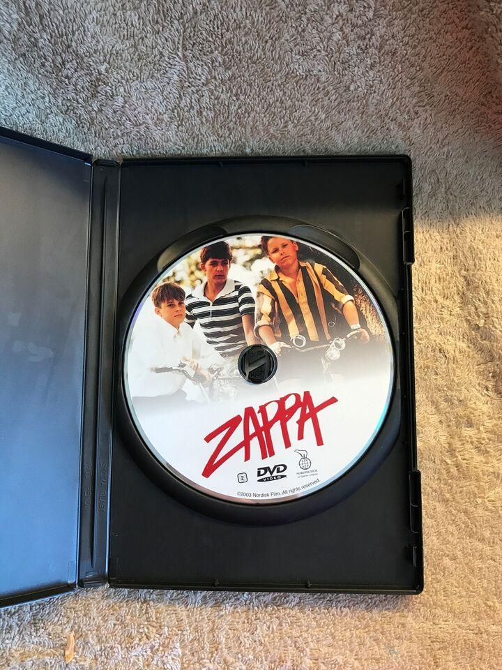 Zappa , instruktør Bille August , DVD
