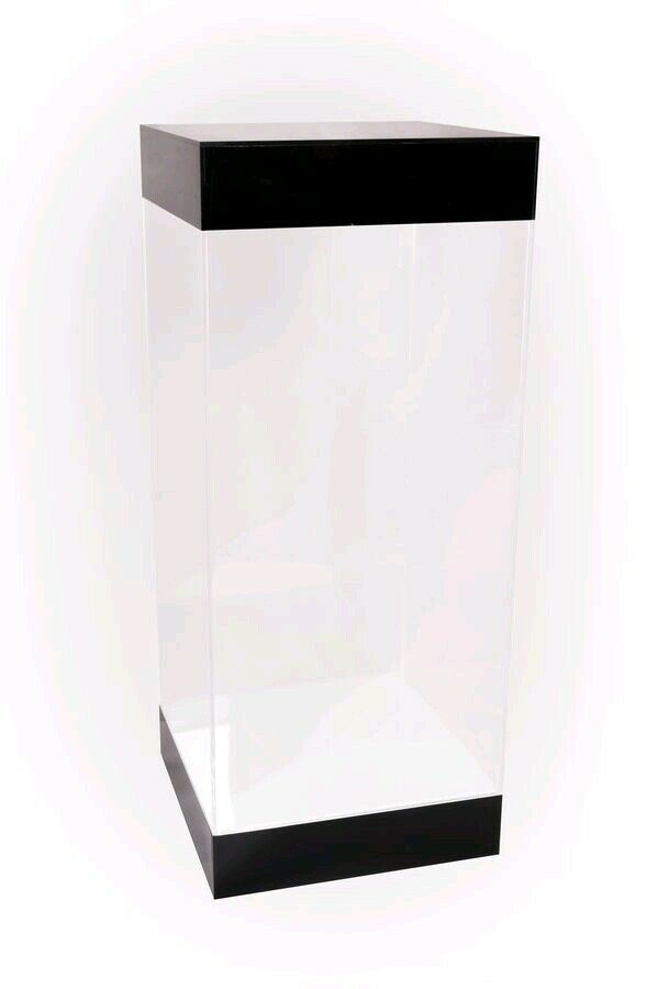 Light-Up Acrylic Display Stand 204 x 204 x 400mm - Fits Hot Toys