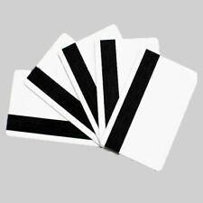 Pack of 1000x CR80//30 2750oe Hi-Co Blank White PVC Magnetic Stripe Card