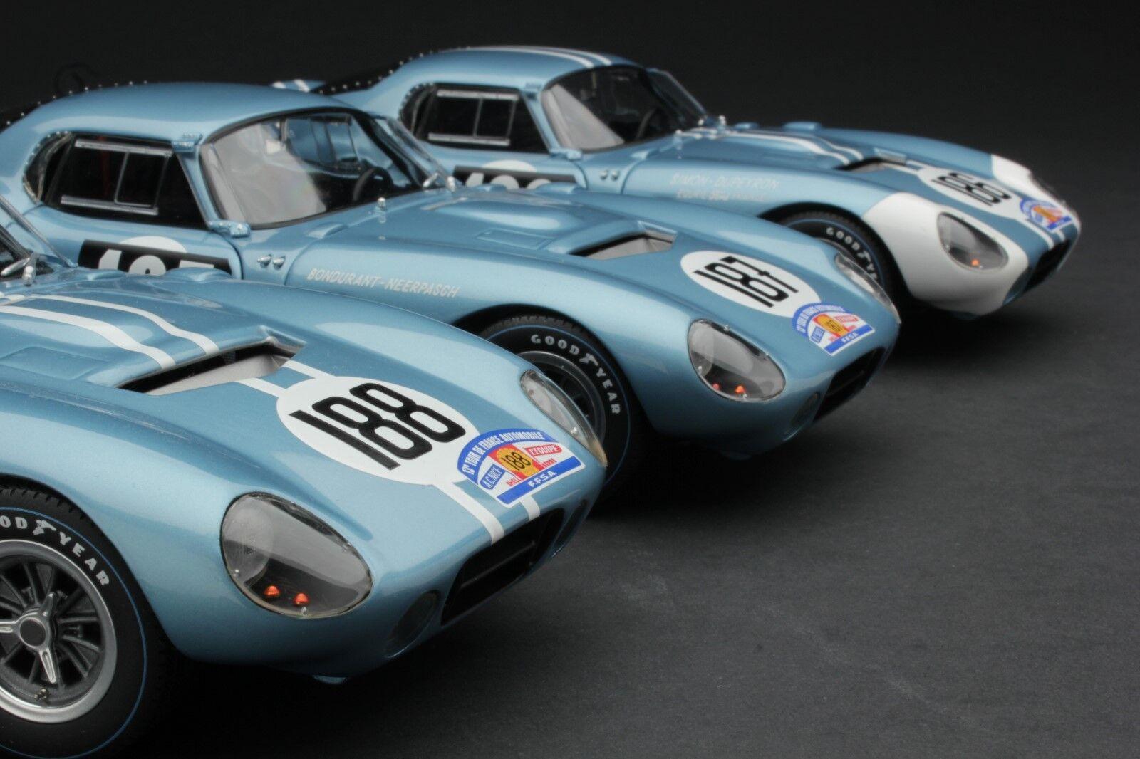 Exoto 1 18 EXCLUSIVE COLLECTION The Cobra Daytona at the Tour de France 1964