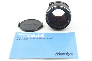 Eccellente-5-Mamiya-Sekor-LENTE-80mm-f-1-9-C-per-M645-1000S-TL-GIAPPONE-Super-Pro-3511