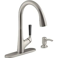 Item 4 Kohler Malleco R562 SD VS Stainless Steel Pull Down Spray Kitchen  Faucet  Kohler Malleco R562 SD VS Stainless Steel Pull Down Spray Kitchen  Faucet