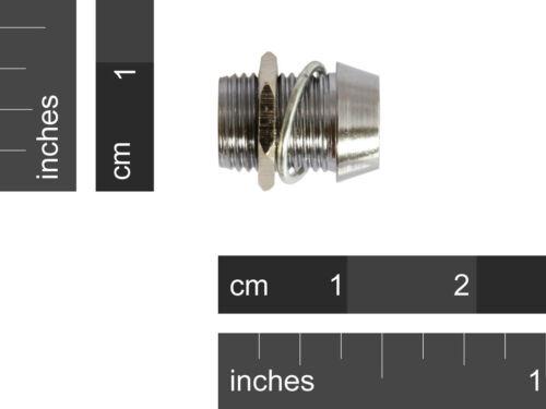 10 Pcs 5mm Chrome Metal LED Bezel Holder High Quality.. USA SELLER!!!