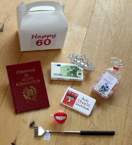 60 geburtstag geschenkidee frauen geburtstagsgeschenke lustige geschenke ideen ebay - Lustige geschenke zum polterabend ...