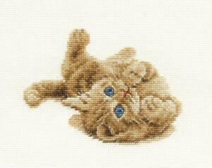 Dmc-Cross-Stitch-Kit-Gatos-Gatito-Jugando