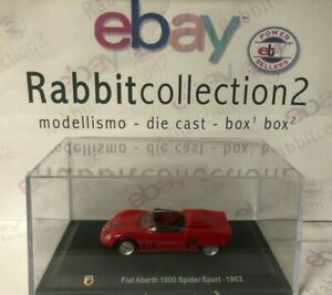 DIE-CAST-034-FIAT-ABARTH-1000-SPIDER-SPORT-1963-034-TECA-BOX-2-SCALA-1-43