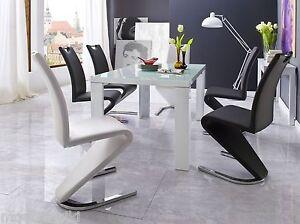 2xSchwingstuhl-Amado-Freischwinger-Stuhl-Esszimmerstuhl-Chair-Stuehle-2-4-6-8st