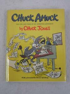 SIGNED-CHUCK-JONES-CHUCK-AMUCK-The-Life-and-Times-of-an-Animated-Cartoonist-1990