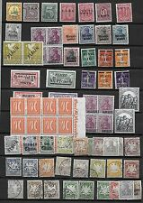 GERMANY 1870's-1970's COLLECTION REMAINING OF MEMEL, BERLIN, INVERTS, BAVARIA