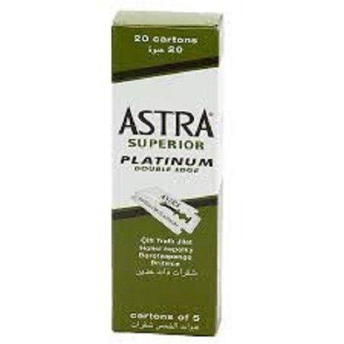 Astra Superior Platinum Double Edge Razor Shaving Blades 100 pcs FAST SHIPPING