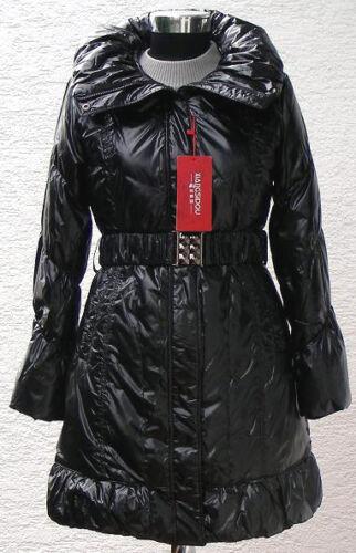 Duvet Manteau Doudoune Femmes xsd3008 en noir veste d/'hiver capuche veste