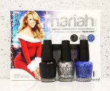 OPI Holiday 2013 Mariah Carey Mini 3 Pack Liquid Sand 3pc Trio Set 1 Minis HLE31