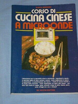 Corso Di Cucina Cinese A Microonde Bianca Ramorino De Vecchi Editore O5 Ebay