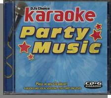 Karaoke CD+G - Party Music - New 5 Song CD! Takin' Care of Business, Funkytown