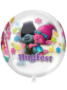 Image Is Loading Troll Trolls Birthday Party Decoration 16 034 Clear