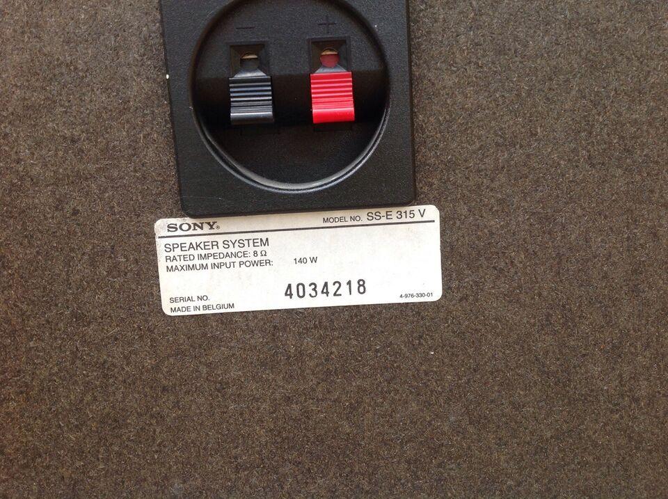 Højttaler, Sony, SS-E 315 V