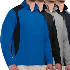 Tri-Mountain Men's Diversion 1/4 Zip Lightweight Golf Pullover NEW
