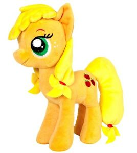 "NEW OFFICIAL 12"" MY LITTLE PONY APPLE JACK PLUSH SOFT TOY"