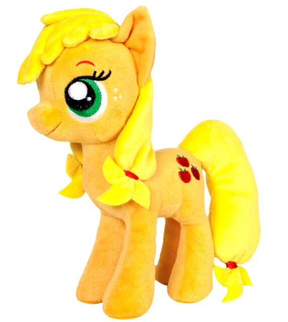 """NEW OFFICIAL 12"""" MY LITTLE PONY APPLE JACK PLUSH SOFT TOY"""