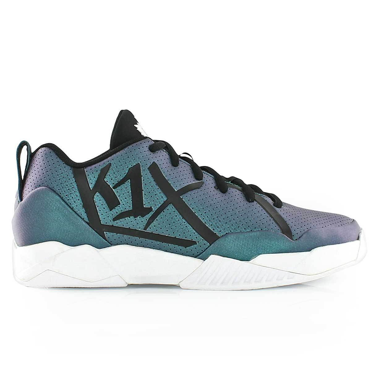 K1X Paradoxum Teal Basketball shoes Low Cut