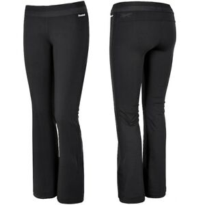 Reebok-Damen-Fitness-Trainingshose-Sport-Hose-Laufhose-Leggings-Crossfit-schwarz