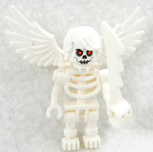 NEW ANGELO of DEATH LEGO MINIFIG skeleton ghost angel minifigure halloween