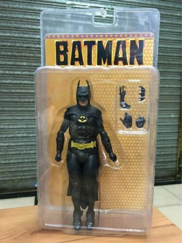 "NECA 1989 Batman Michael Keaton 25th Anniversary PVC Action Figure 7/"" inch"
