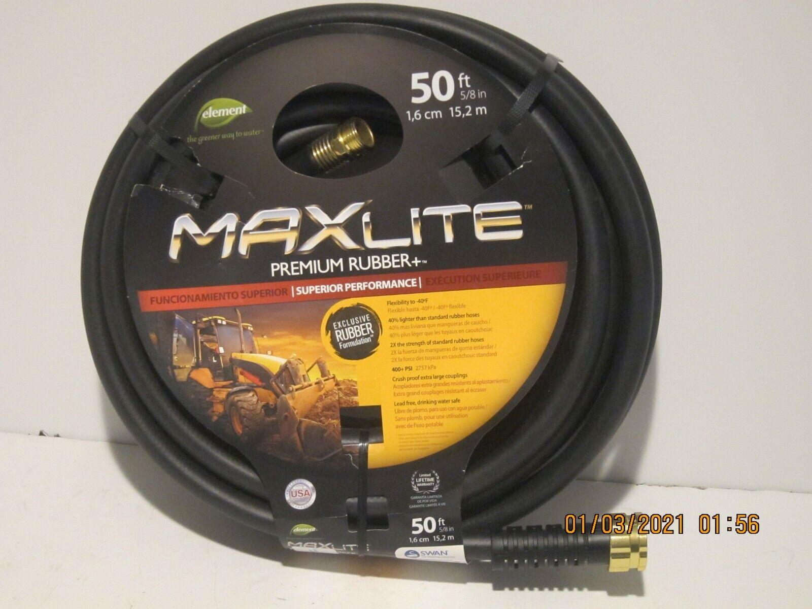 Swan Products, Element Maxlite BLACK .625