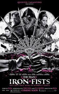 The Man With The Iron Fists Original Zweiseitig Kinofilm Plakat 69x102cm