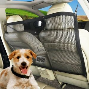 LN-CO-Universal-Car-Back-Seat-Dog-Pet-Barrier-Mesh-Safety-Net-Guard-with-Bel