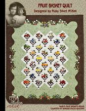 Ruby Short McKim's Fruit Basket Quilt Pattern Book
