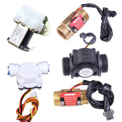 "G1//2/"" G1//4/"" G3//4/"" 1in Water Flow Hall Sensor Switch PE Pipe Flow meter Counter"