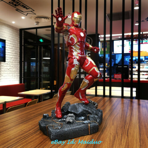 1//4 MK43 Resin Figurine Ironman Model GK Collectible Gifts Painted New 20/'/'H