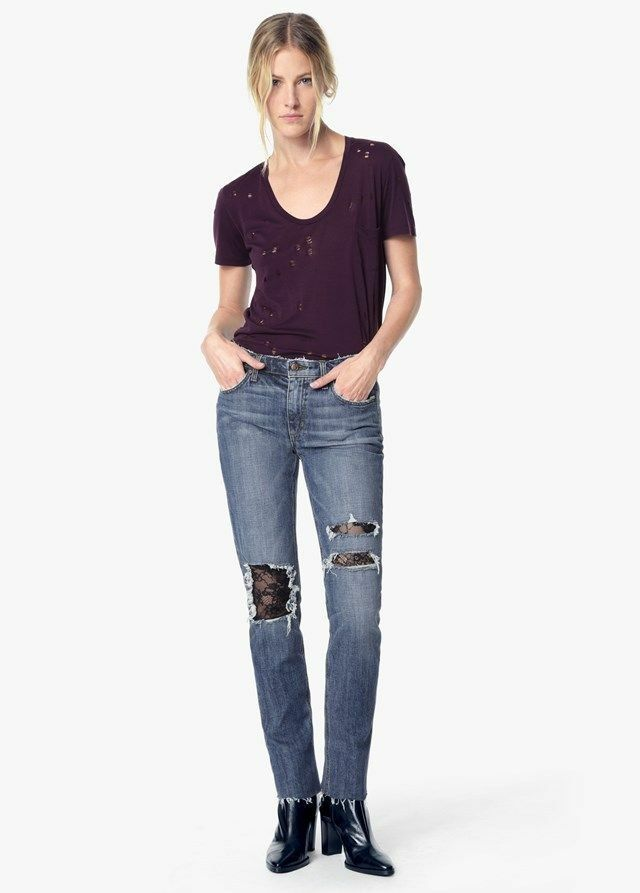 JOES JEANS The Billie Boyfriend Slim Ankle Leora Size 27 NWT COLLECTORS EDITION