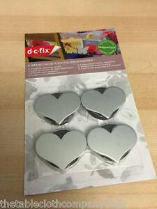 PACK OF 4 MAGNETIC METAL HEART TABLECLOTH WEIGHTS - Gillingham, United Kingdom - PACK OF 4 MAGNETIC METAL HEART TABLECLOTH WEIGHTS - Gillingham, United Kingdom