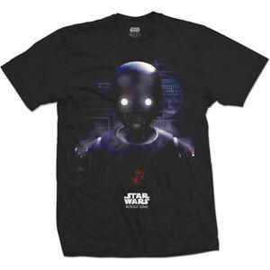 T-shirt noir pour homme STAR WARS Rogue One K-2SO Prime Force