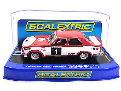 "Scalextric ""HDT"" Holden L34 Torana DPR W/ Lights 1/32 Scale Slot Car C3492"