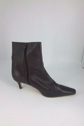 39 Low Nh181 6 Leather Ladie's Phase Cc Eight Heel Ankle 07 Brown Eu Uk Boot's a7fXPqw