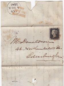 1841-KIRKCALDY-MALTESE-CROSS-4-MGN-1d-BLACK-PLATE-4-WILLIAM-STARK-LETTER-M-X