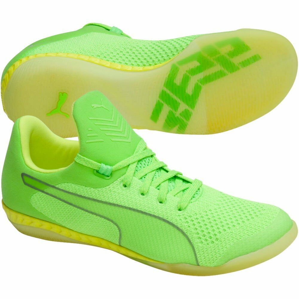 Puma 365 EvoKnit Ignite 2017 IT Indoor Training Soccer chaussures  Electricity Green