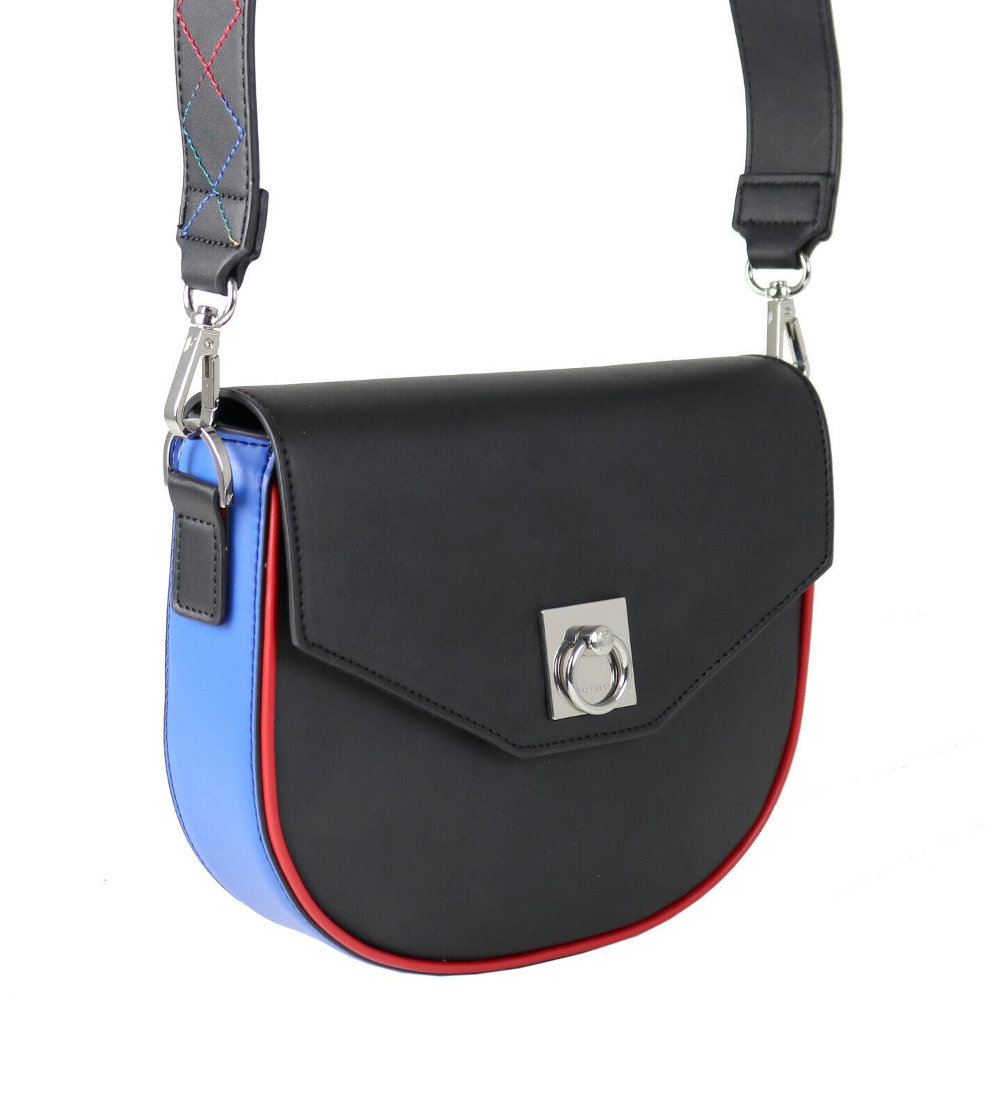 a287b86c5a687 Fiorelli Tasche Umhängetasche Fae Pop Saddle Saddle Saddle Bag FSH0132  Schwarz Rot Blau