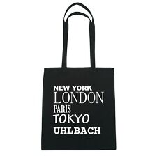 New York, London, Parigi, Tokyo UHLBACH - Borsa Di Iuta Borsa - Colore: nero