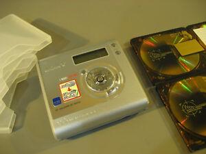 Minidisc-Sony-Walkman-MZ-NH-700-HI-Usb-Gerat-4-Premium-MD-Gold-55
