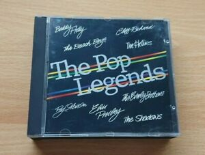 The Pop Legends - Elvis, Buddy Holly and more - 5x CD - Reader's Digest - 1988
