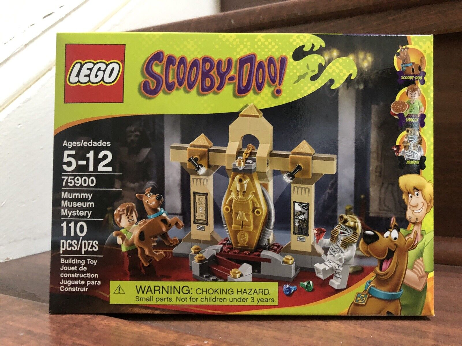 NEW LEGO Scooby-Doo  Mummy Museum Mystery Building Kit 75900 , SEALED