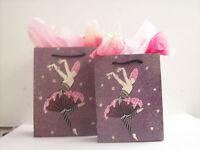 Erte Gift Bags- Rose Dancer- Set Of 2
