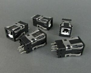 Lot-of-5-Honeywell-AML21CBA3BA-Push-Button-Switches-NO-NC-SPDT-NEW