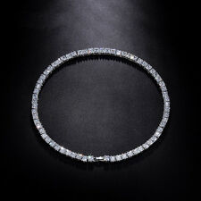 17.5'' Luxury 67 Pcs 0.3IN Square Cubic Zirconia Necklaces For Women